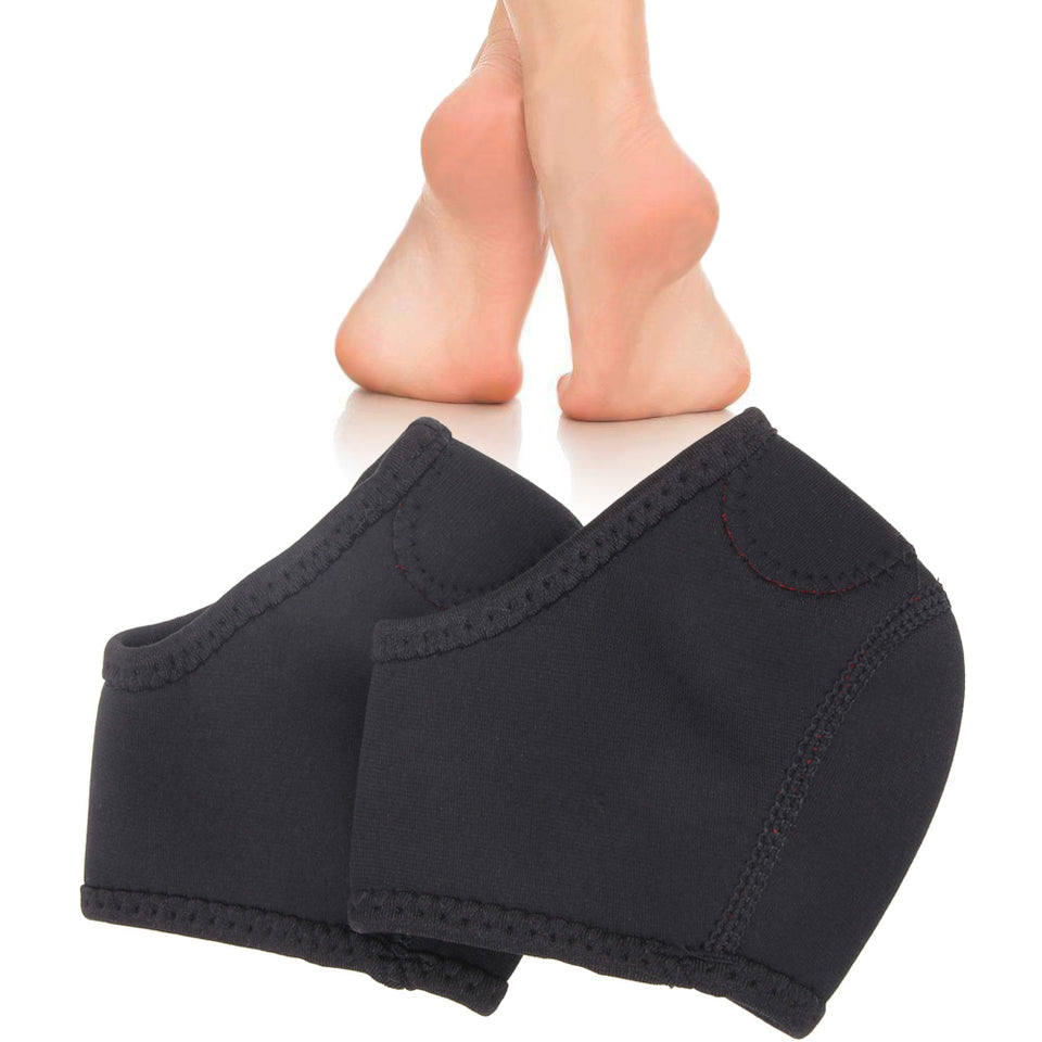 5c52b93c26 1 Pair Foot Sleeve Heel Support Socks Plantar Fasciitis Arch Support Sport  Protectors Pain Relief Arch ...