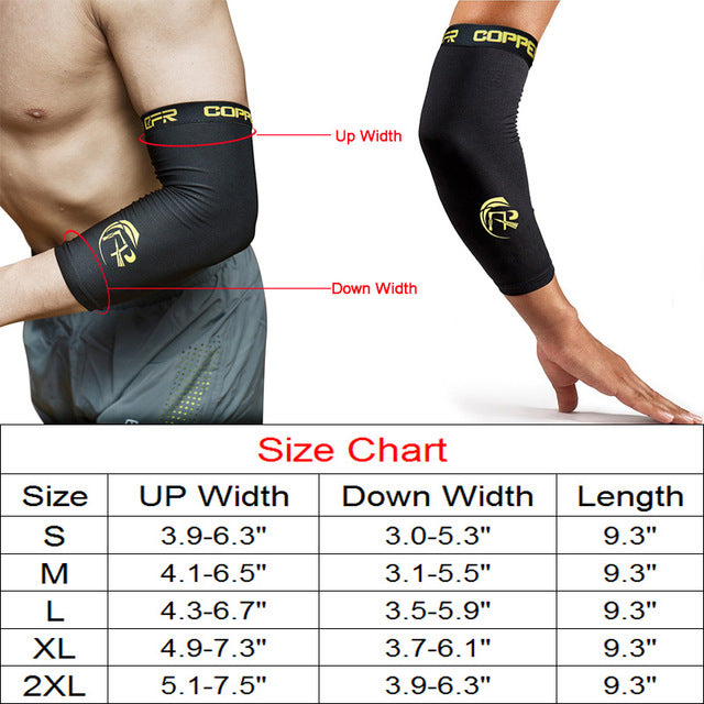 517c341687 #1 · Copper Compression Recovery Knee Sleeve - GUARANTEED Highest Copper  Content With Infused Fit.