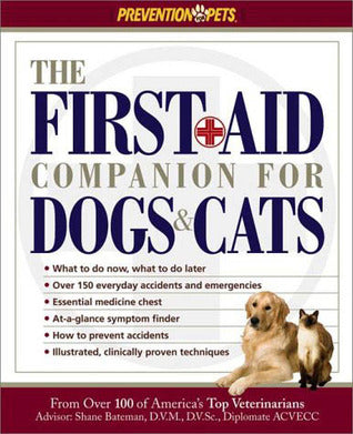 The First Aid Companion for Dogs & Cats (Amy Shojai)