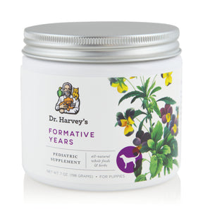 Dr Harvey's – Formative Years Supplement