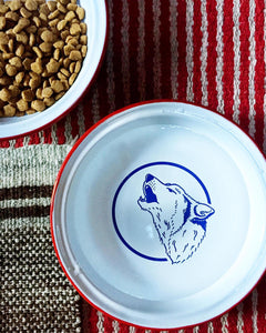 Billy Wolf NYC – Enamel Dog Dish