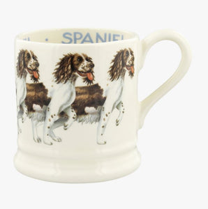 Emma Bridgewater' Dogs Brown & Cream Spaniel 1/2 Pint Mug