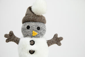 Max Bone - Snowman Plush Toy