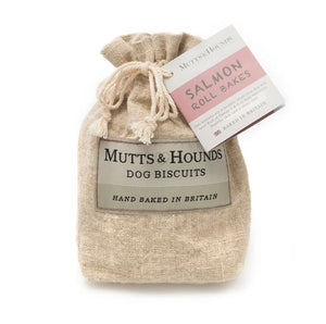 Mutts & Hounds - Salmon Roll Dog Biscuit Bakes