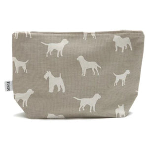 Mutts & Hounds - French Grey Wash Bag