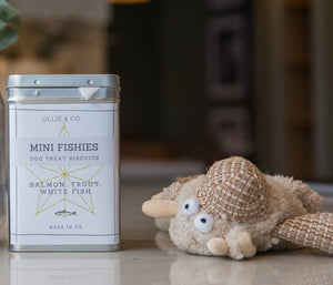 Ollie & Co - Mini Fishies - luxury Seaside Mini Fishy Dog Treats