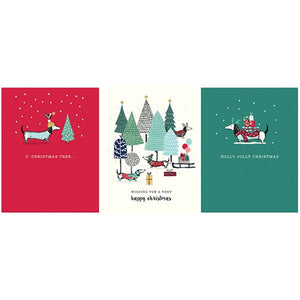 Happy Christmas - Set of 12 Cards