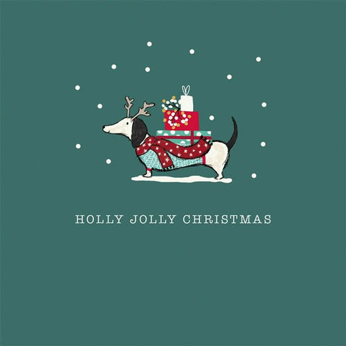 Holly Jolly Christmas - Set of 6 Cards
