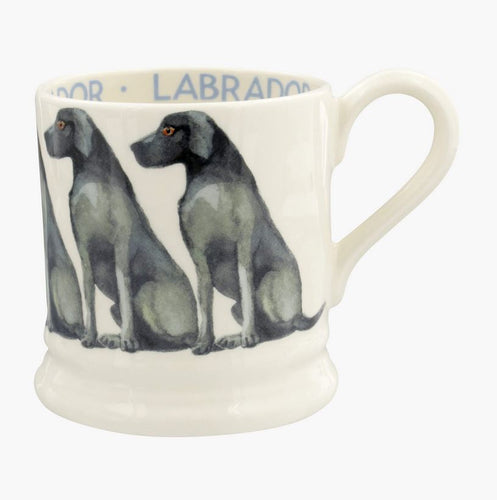 Emma Bridgewater' Dogs Black Labrador 1/2 Pint Mug