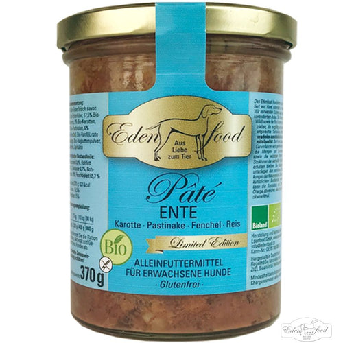 Eden Food - Organic Duck Pâté (Limited edition - 370g)