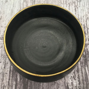 Oonalfie - Gold Rim Bowl