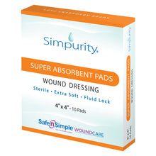 Super Absorbent Pads (10 units per box)