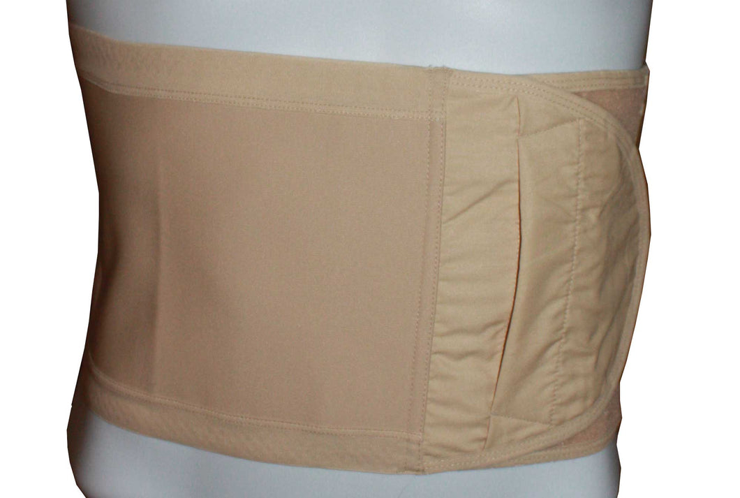 Hernia Support Belt 6 inch Beige