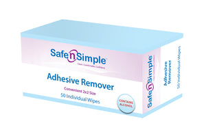 Adhesive Remover with Alcohol 50ct