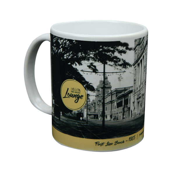 First Line Beach Coffee Mug