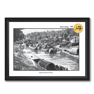 Barber's Bridge Photo Frame