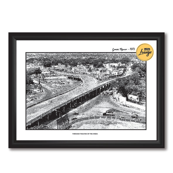 Gemini Flyover Photo Frame