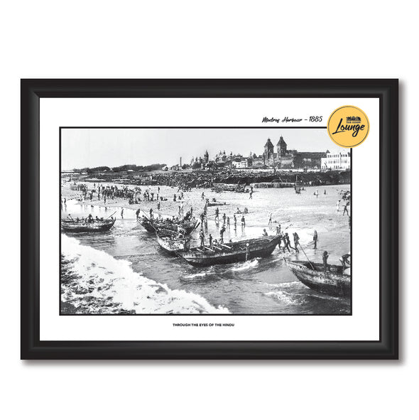 Madras Harbour Photo Frame