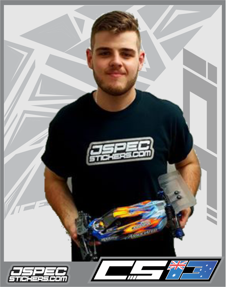 Chris Sturdy Joins Jspec Stickers!!