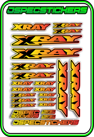 HOBBYWING RC STICKER SHEET A5 'RK EDITION'