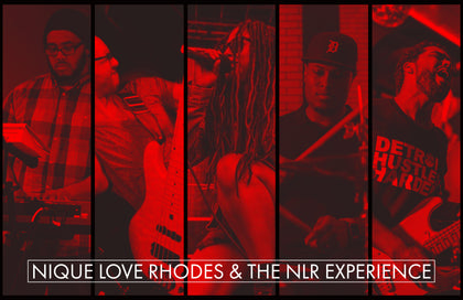 NLR Band Poster - Red