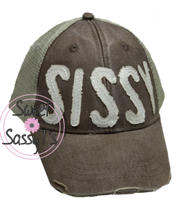 0680a367ffb CUSTOM -- DISTRESSED DAD HAT (UP TO 5 LETTERS)