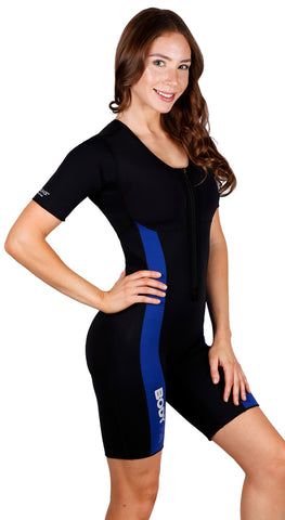 Body Spa Woman Sauna Sweat Hot Suit for weight loss Closed Chest and Eco Friendly