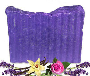 Lavender Vanilla Rose Soap Bar