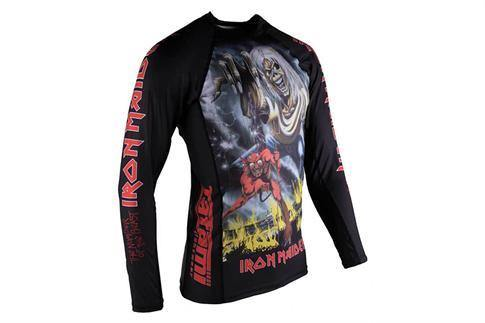 Tatami Iron Maiden Number Of The Beast Children's Grappling Rashguard - MMA Fightland