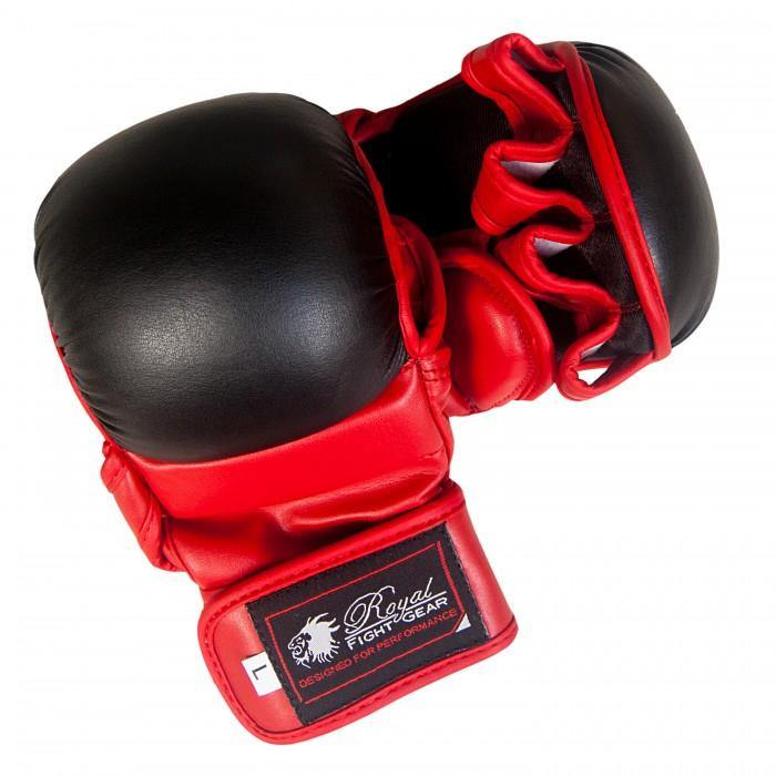 BOLD LOOK RFG MMA ARTIFICIAL LEATHER TRAINING GLOVES-1