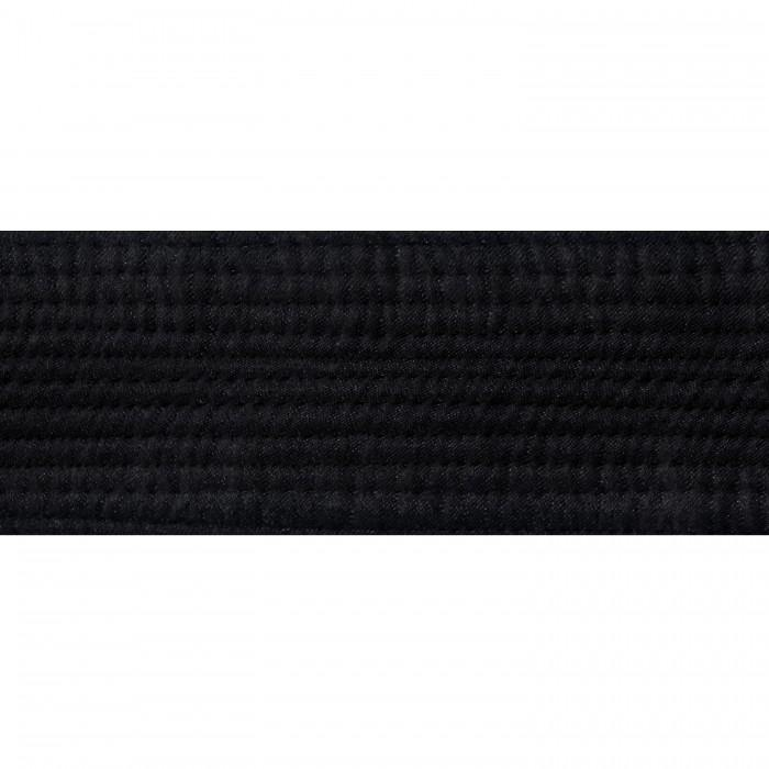 "BOLD LOOK 2"" DELUXE BLACK SATIN BELTS"