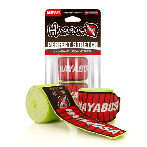 "Hayabusa-180"" Perfect Stretch 2-Handwraps-Green"