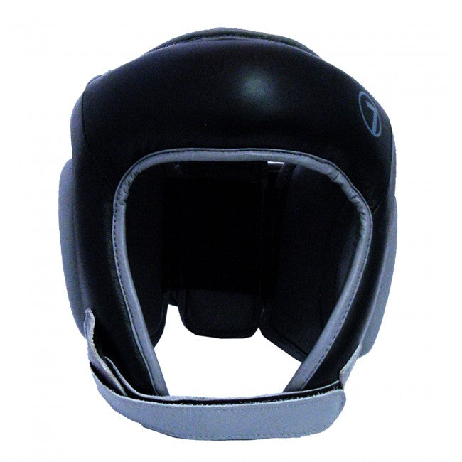 MACHO SEVEN OPEN FACE HEAD GEAR BLACK-1