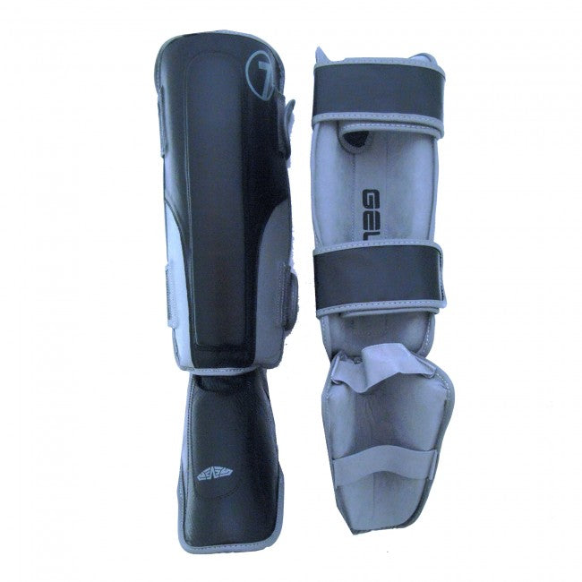 Macho Seven Stand Up Shin Guard Black