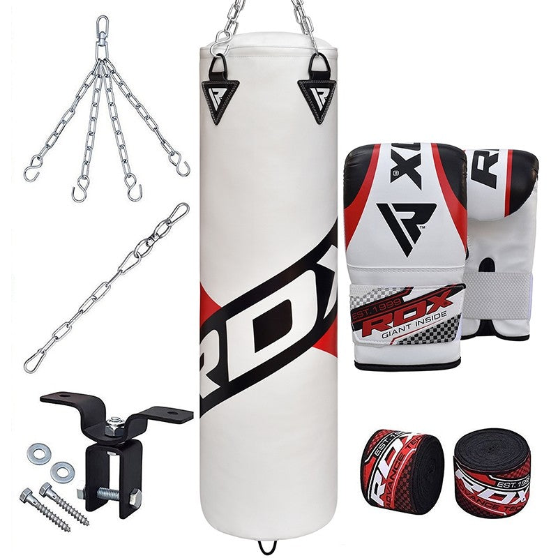 RDX F10 8 PC FILLED PUNCH BAG WITH BAG MITTS-1