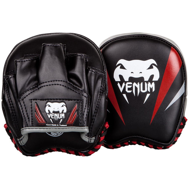 Venum-Elite Small Punch Mitts - Black-1