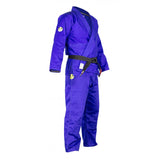 FUJI CLASSIC PERFORMANCE ADULT BJJ GI-Blue-4