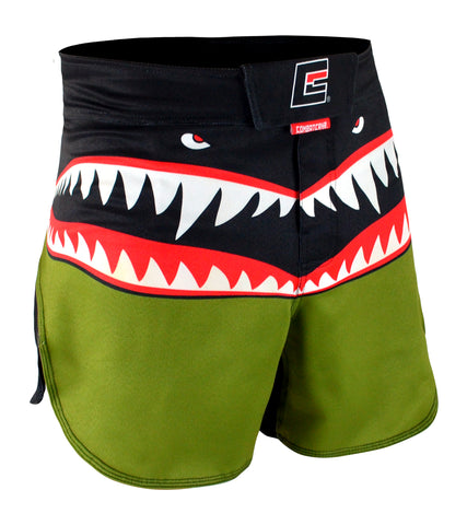 Combat Corner Supreme Hybrid Fight Shorts WarHawk-1