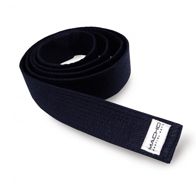 "MACHO DELUXE 2"" BLACK BELT-1"