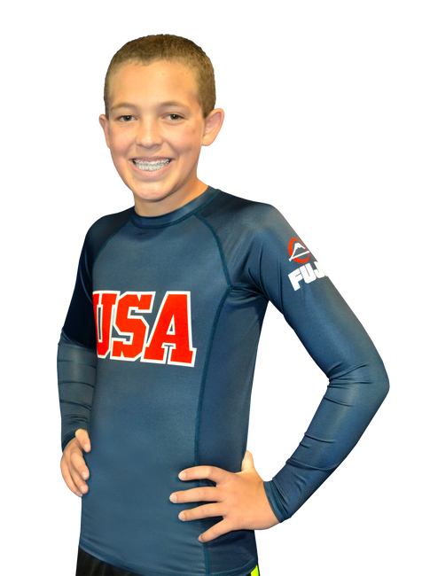 FUJI Sports Kids USA Rashguard-1