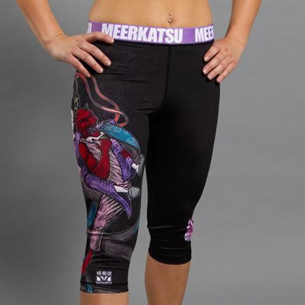 Meerkatsu-Divine Bow and Arrow Women's Grappling Tights-1