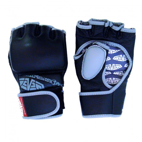 MACHO Seven Black Hybrid Glove