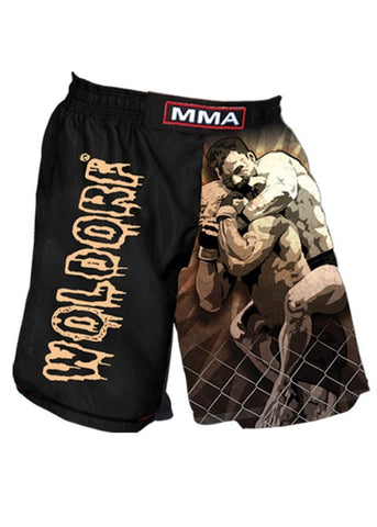 WOLDORF-Sublimation MMA Shorts Grappler Design