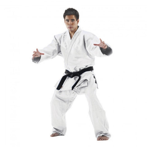 MCHO SINGLE WEAVE JUDO UNIFORM-White