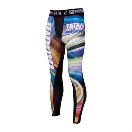 Tatami Essential Psychedelic Grappling Tights-1