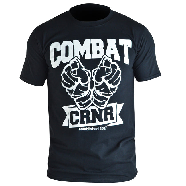 Combat Corner Throw Back T-Shirt-1