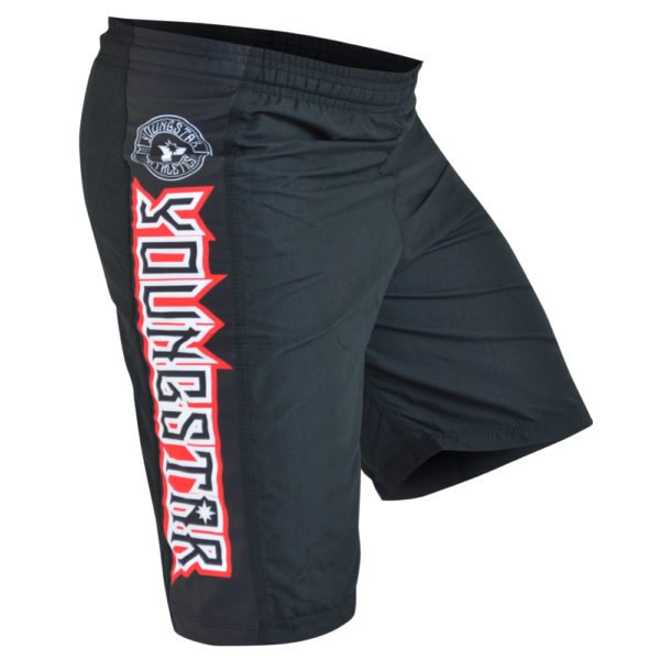 Combat Corner YoungStar Kids Shorts BLK-1