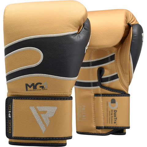 RDX P1 BAZOOKA LEATHER BOXING GLOVE/Gld-1
