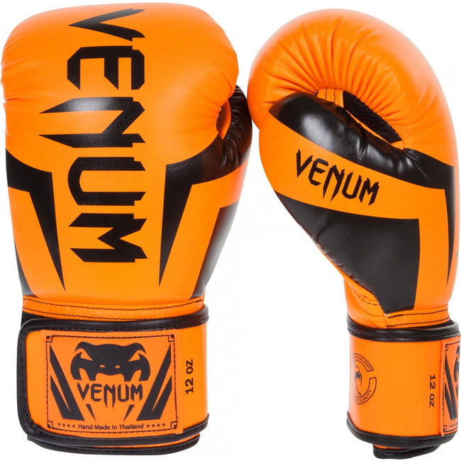 Venum-Elite Boxing Gloves-Orange-1