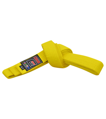 Combat Corner BJJ Belt Yellow